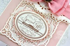 Spellbinders and JustRite Special Gifts Closeup - amazingpapergrace.com