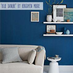 Blue Danube by Benjamin Moore - redo kitchen?
