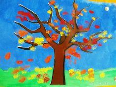 Jesenný strom
