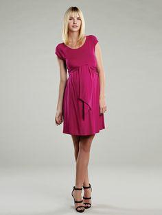 Criss Cross Shoulder Dress by Maternal America on Gilt.com