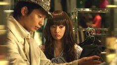 Keiko Kitagawa in the beautiful film 'Paradaisu Kisu' ('Paradise Kiss') (2011)