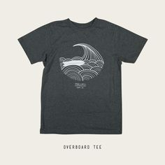 cf58081fb5 Maluku Overboard Surf T-Shirt Design by Adam Primmer