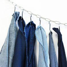 New indigo fabrics. #Denim #GarciaJeans // Mady Verkerk