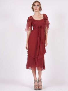 I love this one, too, but it would be too young on me - what is it with picking red dresses? I don't even like red! #wardrobeshop