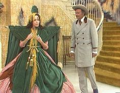 "Carol Burnett's Gone With the Wind parody.  ""I saw it in the window, and just couldn't resist it.""  Lol!"