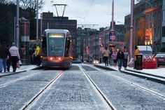 Luas, Dublin, Ireland Rapid Transit, Light Rail, Dublin Ireland, Northern California, Buses, Transportation, Irish, Scale, Around The Worlds