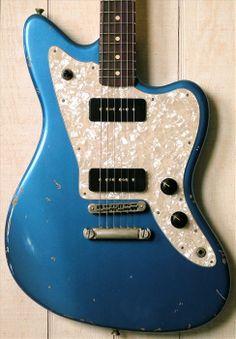 Fano Guitars Alt de Facto JM6 Lake Placid Blue