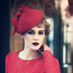 Cherry  by Jane Taylor Millinery