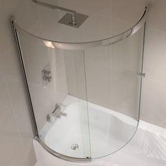 Shower Screens For Corner Baths curved bath tub   home   shower baths   curved return screen for p