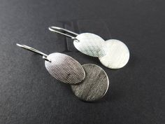 Items similar to Modern earrings Silver earrings Silver dangles Gifts for her natural jewelry Mother's day gift Textured drop earrings Artisan earrings on Etsy Copper Earrings, Gifts For Her, Dangles, Gemstones, Trending Outfits, Unique Jewelry, Handmade Gifts, Modern, Etsy