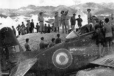 Battle of Dien Bien Phu-1954 General Vo Nguyen Giap saw French aircraft wreckage shot down beside Muong Thanh bridge.