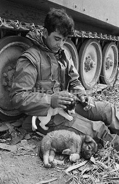 Do you get tired of the same old Vietnam war photos? Well don't worry because we've got you covered with plenty of unseen pictures of what life was like for soldiers in Vietnam as well as their civilian counterparts in America. Military Dogs, Military Art, Vietnam War Photos, History Magazine, South Vietnam, Hanoi Vietnam, War Image, War Dogs, War Photography