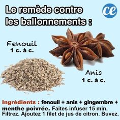 le remède naturel aux plantes pour soigner et guérir les ballonnements Health Tips, Health Care, How To Eat Less, Herbal Tea, Fodmap, Natural Treatments, Healthy Nutrition, Fresh Herbs, Home Remedies