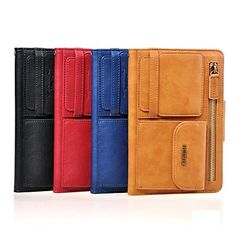 REMAX® Solid Color PU Leather Full Body Case with Stand and Card Slot for iPad Mini/ Mini 2 (Assorted Colors) http://mxpi.co.nf/?item=1638758