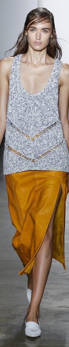 Wes Gordon Spring 2016 RTW Fashion 2016, Fashion Spring, Wes Gordon, Lace Outfit, Gilets, 2016 Trends, Cardigans, Sweaters, Sweater Design