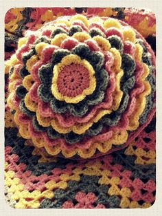 Flower cushion | Flickr - Photo Sharing!