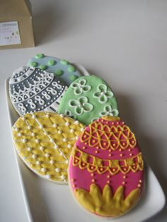 Easter cookie decorating idea