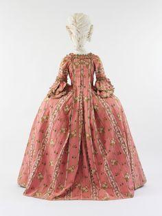 Robe à la Française (sacque-back)Francec. 1775 Metropolitan Museum of Art