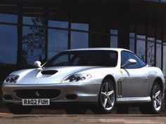 Bad boys, bad boys... :) One of th most beautiful cars ever, simple, elegant and stunning: Ferrari 575 M Maranello