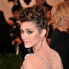 Get the Details on the Two Winning Looks in Our Best-of Hair and Makeup at the Met Gala Poll on Emmy Rossum and Minka Kelly