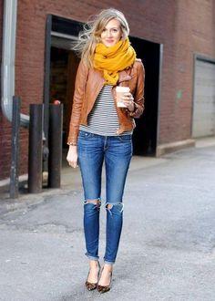 Descubre cómo llevar pashminas o bufandas con mucho estilo | Belleza