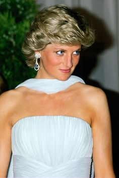 A look back at the late royal's greatest hairstyles.