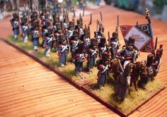 15mm AB French Napoleonic Old Guard, by Napoleonics in Miniature's Little Dave
