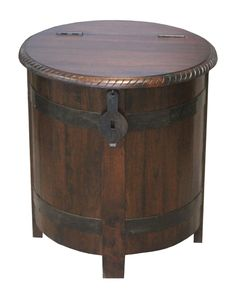 Spotted this Maya Barrel End Table on Rue La La. Shop (quickly!).