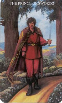 Prince of Swords ~ The Witches Tarot