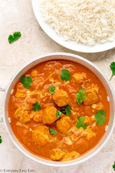 Quick and Easy Indian Chicken Curry Recipe | EverydayEasyEats.com