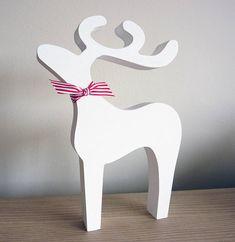 Decoración navideña con Renos http://www.icono-interiorismo.blogspot.com.es/2015/12/decoracion-navidena-con-renos.html