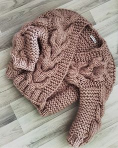 Small knitted sweater