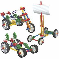 K'NEX Education™ Forces, Energy and Motion Set Powerful and dynamic tools for creative learning.
