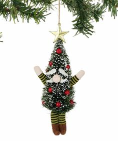 Take a look at this Tree Gnome Ornament today!