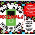 $4.00 Rock 'n Roll DECIMAL task cards make skills practice much more fun – and playing SCOOT keeps kids moving!    56 different problems give you differen...