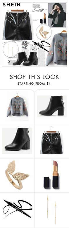"""""""Autumn look from SHEIN"""" by maiah-bee ❤ liked on Polyvore"""