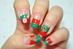 Christmas nail - Christmas Nail Art