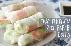 Rice paper rolls are fresh, tasty, healthy and fun for the kids to get involved in making. This chicken rice paper rolls recipe is a quick and easy…