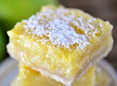 GlutenAway: Very Easy Gluten Free Key Lime Bars {Dairy Free}