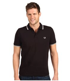 Fred Perry Slim Fit Twin Tipped Fred Perry Polo