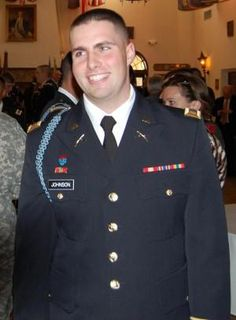 Honoring Army 1st Lt. David A. Johnson who selflessly sacrificed his life on1/25/2012 in Afghanistan for our great Country. Please help me honor him so that he is not forgotten.