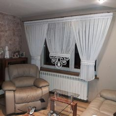 Zavjese I Paravani Curtain Styles, Curtain Designs, Window Coverings, Window Treatments, My Furniture, Kitchen Curtains, Panel Curtains, Living Room Decor, Sweet Home