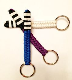 A personal favorite from my Etsy shop https://www.etsy.com/listing/264072267/bjj-rank-keychain-bjj-mixed-martial-arts