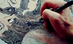 Map Portraits by Ed Fairburn | iGNANT.de