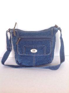 10% OFF STOREWIDE SPRING SALE: www.stores.ebay.com/californiauniqueboutique Jeans Denim Blue  Bag Crossbody Messenger Designer Fashion Bohemian #none #MessengerCrossBody