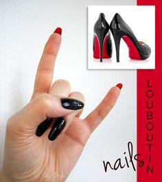 ZigiZtyle: Inspiration Nails: Louboutin Shoes