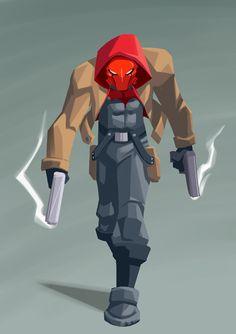 Red hood by chikinrise.deviantart.com on @DeviantArt
