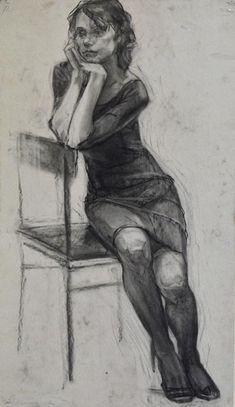 New art drawings design portraits ideas Human Figure Sketches, Human Figure Drawing, Figure Sketching, Life Drawing, Figure Drawing Reference, Anatomy Reference, Pencil Art Drawings, Realistic Drawings, Art Drawings Sketches