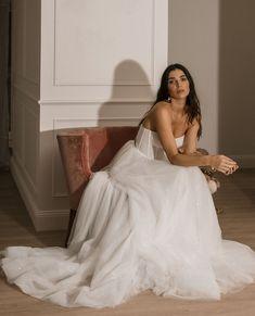 "Ella Moda on Instagram: ""LUNA // sparkle and swish . . . . . . #loveisnotcancelled #destinationbride #customweddingdress #australiandesigner #madeinaustralia…"" Custom Wedding Dress, Wedding Dresses, One Shoulder Wedding Dress, Sparkle, Bridal, Dusk, Collection, Instagram, Fashion"