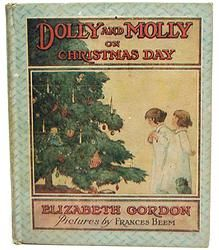 Dolly and Molly on Christmas 1914